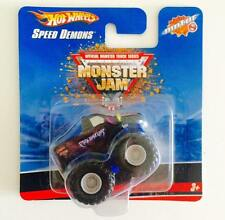 HOTWHEELS MINI MONSTER JAM SPEED DEMONS ( PREDATOR ) - HOT