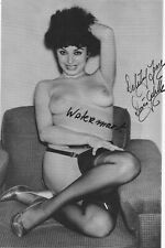 Lenny Burtman Vintage Photo* hand signed*Burlesque*DORIS GOHLKE*DELILAH JONES