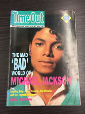TIME OUT Magazine- August 19th-26th 1987, Michael Jackson