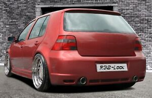 "Paraurti posteriore per VW GOLF 4 1997-2005 Plastica ABS ""R32 look"""