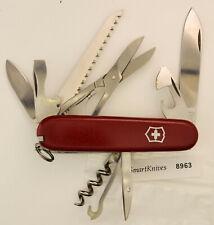 Victorinox Huntsman Swiss Army knife- used, good but stiff #8963