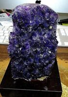 LARGE AMETHYST  CRYSTAL CATHEDRAL GEODE URUGUAY; CLUSTER  MUSEUM GRADE;