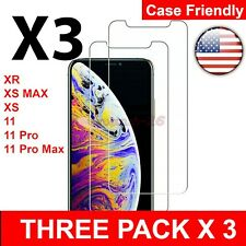 TOP Tempered Glass Film Screen Protector for New iPhone XS Max XR XS X 2019 USA