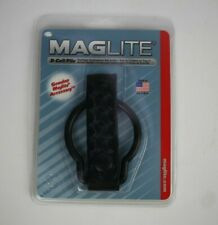 Maglite D Cell Flashlight Belt Holder Black Leather Accessory New