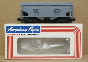 American Flyer 4-9206 New York Central Hopper Car S-Gauge LNIB