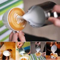 350ml Edelstahl Kaffeekanne Saftkanne Milchkännchen Kaffeebereiter Kanne Neu