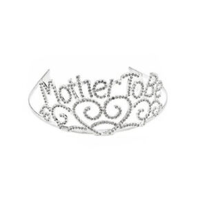 Baby Shower Mother To Be TIARA Mom Crown Baby Shower Accessory