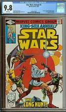 STAR WARS ANNUAL #1 CGC 9.8 WHITE PAGES