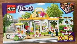LEGO 41444 FRIENDS Heartlake City Organic Cafe Age 6 + ~Brand NEW~
