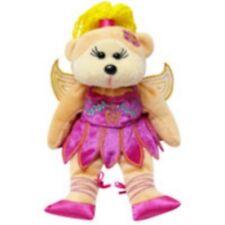 "Skansen Beanie Kid "" Iridessa The Fairy Bear"" Mint With Mint Tag"