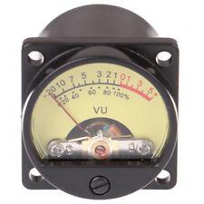 1Pc Panel VU Meter 6-12V Bulb Warm Back Light Recording Audio Level Amp Me_ALQA