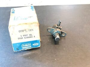 NOS 1964-1965 FORD MUSTANG FALCON GLOVE BOX LOCK W/O KEY FOMOCO. FREE SHIP