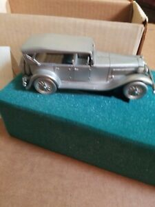 Classic Cars Of The World Danbury Mint Pewter Model Car