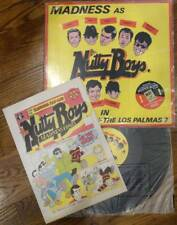 "Madness Nutty Boys Return of the Los Palmas 7 12"" with Comic BUY IT 108"