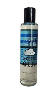 Bath & Body Works LIGHT AS AIR Electric Blue Sky Body Oil 6.3oz/186ml~NEW