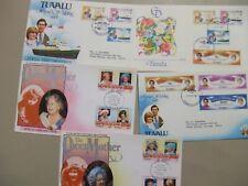 Five British Colonies Tuvalu fdc