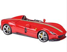 Bburago 1:18 Ferrari MONZA SP1 Signature Diecast Model Racing Car Red NEW IN BOX