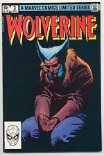 Wolverine #3 (1982) Very Fine (8.0) ~ Bronze Age ~ Marvel