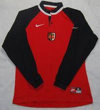 Stade Toulousain Nike Vintage Long Sleeved Rugby Shirt Size Medium