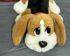 2004 Mattel Pound Puppy Animated Beagle Plush Toy Sound Action Snuffles Barks