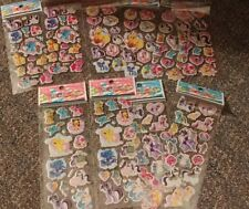 My Little Pony 3D Sticker 10 Packs of Stickers Free Tracking Kids Girls New