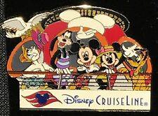 Disney Pin - DCL Annual Passholders Don 'Ducky' Williams Lithograph FAB 5 Cruise