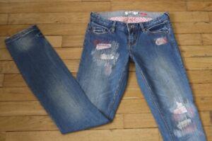 ROXY  Jeans pour Femme W 25 - L 34 Taille Fr 34  (Réf #K134)