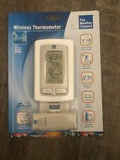 The Weather Channel Wireless Thermometer 9245 New Sealed