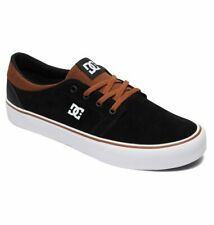 Tg 42 - Scarpe Uomo Skate DC Shoes Trase SD Black Brown Sneakers Schuhe 2019