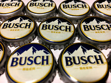BUSCH (Mountain) Beer Bottle Caps - 50  NO DENTS