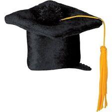 Black Graduation Cap Hair Clip Party Accessory fun accent (1 count) 3.25 inch