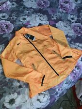 Nike Women's Small Futura Air Running Jacket Orange BV3845-673 Rare Sample