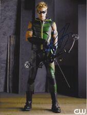 JUSTIN HARTLEY Signed SMALLVILLE GREEN ARROW Photo w/ Hologram COA