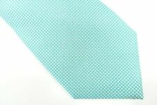 TOMMY HILFIGER DOTTED AQUA BLUE WHITE 3 INCH WIDTH NECK TIE MENS NWT NEW