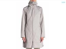 Cole Haan Women's Hooded Longline Rain Coat  MSRP $400