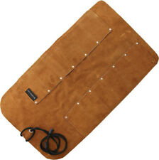 UJ Ramelson 12 Pocket Leather Tool Roll Storage Case Pouch