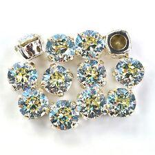 Swarovski 39ss Sew On Crystals 1088 Crystal Moonlight Xirius 6 Pieces