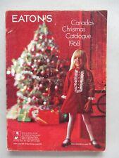 Eaton's CATALOG - Christmas, 1968 ~~ toys, toy, Eatons