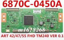 T-con Board 6870C-0450A ART 42/47/55 FHD TM240 VER 0.1 VIZIO SONY KDL-50R550A