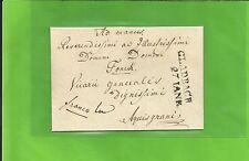 Preußen / GLADBACH 27 IANR, glasklarer L2 auf kl. Franco-Falt-Brief