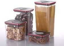 NEOFLAM ERMETICO SMART Container di immagazzinamento del cibo Seal (Set di 3), design modulare