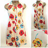 NEW EX DOROTHY PERKINS BUFF CREAM POPPY PRINT TUNIC TOP / MINI DRESS SIZE 6 - 22