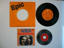 "Abba Dancing Queen UK Epic 1976 7"" Vinyl A1/B2 Matrix Single & CD Single Combo"