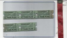 Vintage Lot tickets Euclid Beach Park Cleveland Ohio HUMPHREY Plan FREE SHIPPING