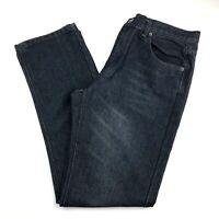Beverly Hills Polo Club Men 32x31 Straight Leg Jeans Dark Wash Denim