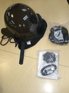 Harley Davidson Boom Audio 1/2 Helmet New for Bluetooth size M