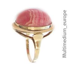 Rhodochrosit  Gold Ring 333 8ct 8kt 8 Karat Design er Cabochon