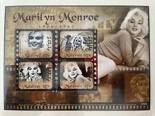 Marilyn Monroe Postage Stamp Arch Mint Unused Maldives No. K14