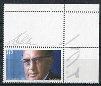 Bund 1963 L postfrisch Abart mit Leerfeld + Eckrand Ecke 2 Michel 250 Euro