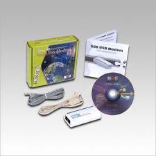 HiRO H50113 V.92 V92 56K External USB Data Fax Dial Up Modem Windows 10 8.1 8 7